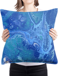 Lost In The Waves 02/03: REVERSIBLE Throw Pillow