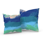 Lost In The Waves 01/02: REVERSIBLE Throw Pillow