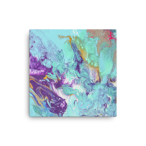The Sky's Birth 01: Square Art Canvas Print