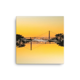 Golden Gate Mirrored 03: Canvas Art Print