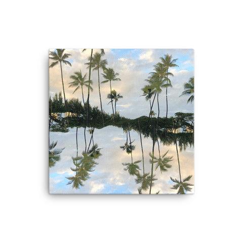 Hawaii Mirrored 01: Canvas Art Print