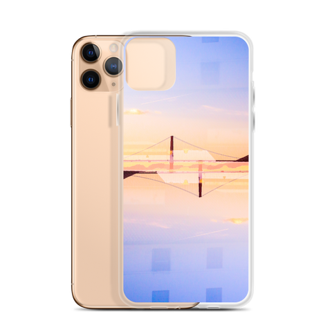 Golden Gate Mirrored 01: iPhone Case