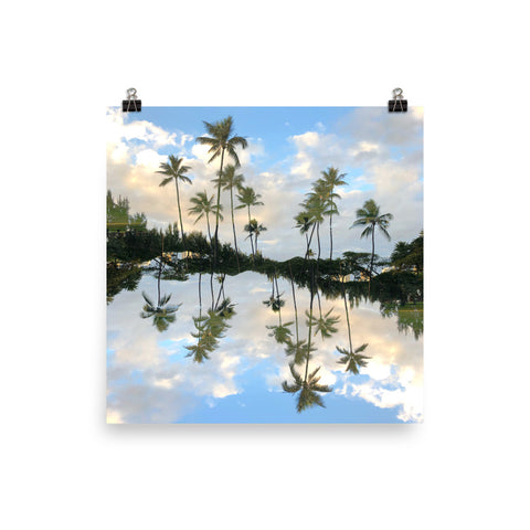 Hawaii Mirrored 01: Premium Luster Print