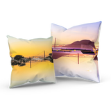 Golden Gate Mirrored 02/03: REVERSIBLE Throw Pillow