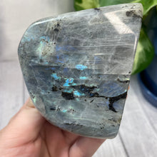 "Load image into Gallery viewer, Multicolor Labradorite Freeform ""G"""