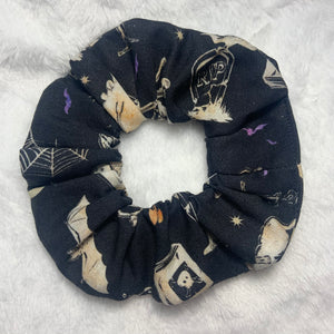 """All Hallows Eve"" Handmade Scrunchie"