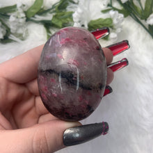"Load image into Gallery viewer, Tourmaline Palmstone ""A"""