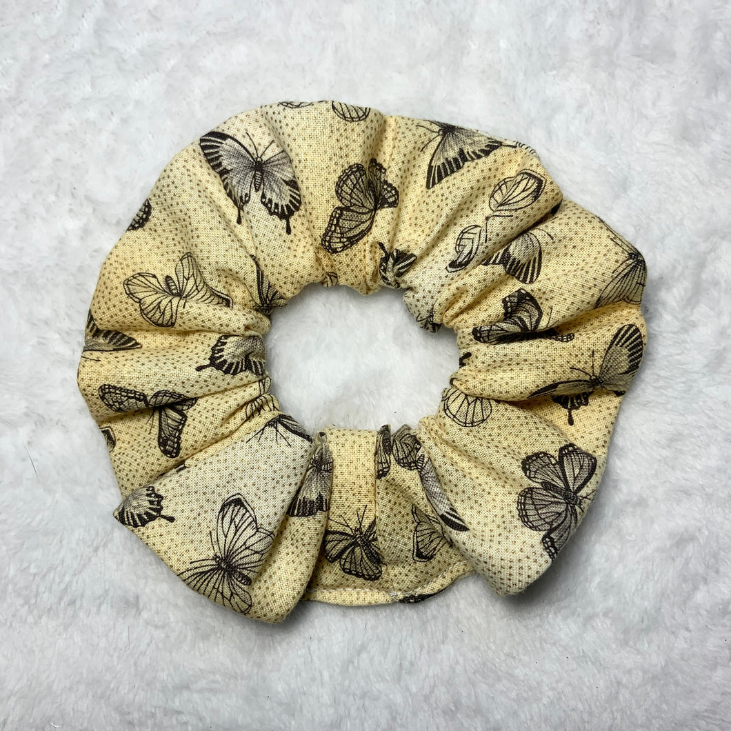 """Golden Afternoon"" Handmade Scrunchie"