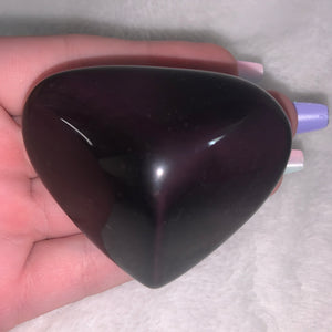 "Violet Flash Obsidian Heart ""C"""