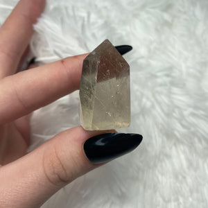 "Golden Rutile Quartz Tower ""D"""