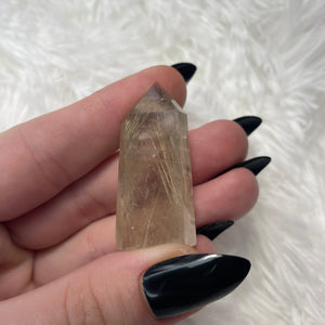 "Golden Rutile Quartz Tower ""C"""