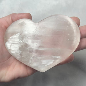 Satin Spar Heart Bowl