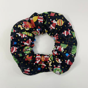 """Santa Clause is Coming to Town"" Handmade Scrunchie"