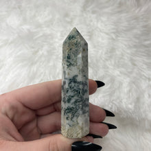 "Load image into Gallery viewer, Moss Agate Tower ""F"""