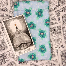 "Load image into Gallery viewer, ""Ancient Sea Spirit"" Tarot Card Bag"