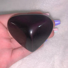 "Load image into Gallery viewer, Violet Flash Obsidian Heart ""C"""