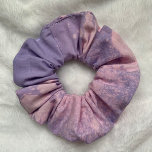 """Cotton Candy"" Handmade Scrunchie"