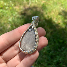 "Load image into Gallery viewer, ""Maeve"" Wire Wrapped Crystal Pendant"