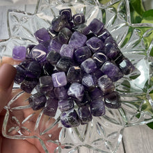 Load image into Gallery viewer, (1) Amethyst Mini Cube