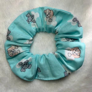 """Lady and the Tramp"" Handmade Scrunchie"