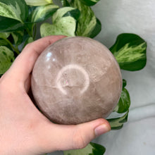 Load image into Gallery viewer, 2lb 7oz Rose Quartz Sphere