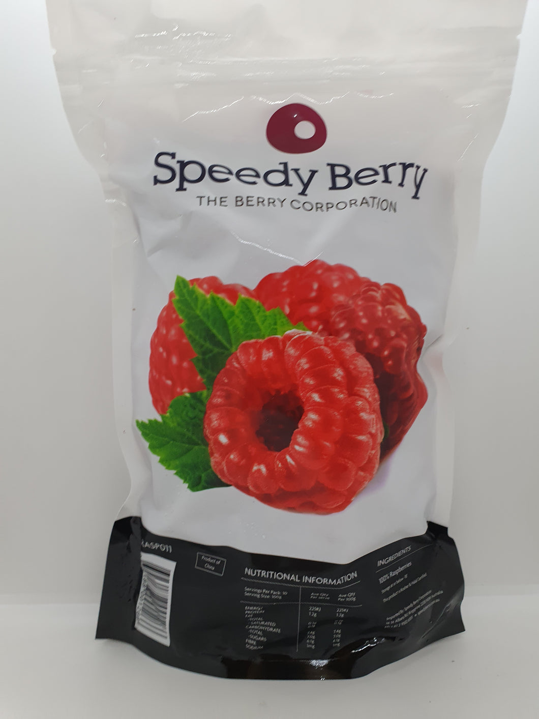 BERRIES RASPBERRY FROZEN 1KG SPEEDY