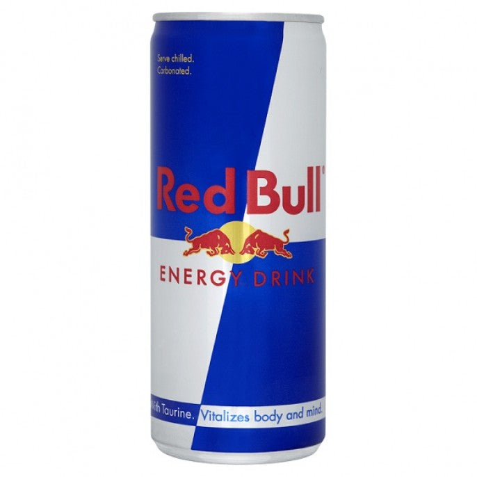 RED BULL ENERGY DRINK 24X250ML CANS