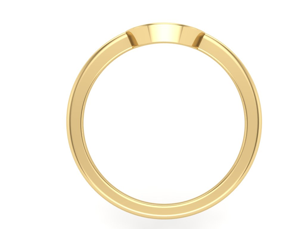 Disc Graduation Ring