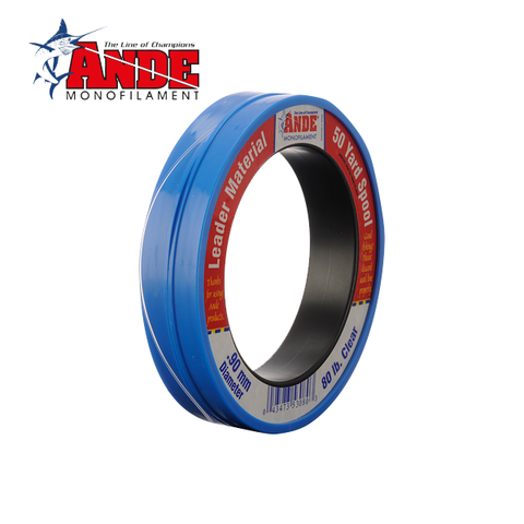 ANDE Premium Monofilament Leader - 50 Yard Spool