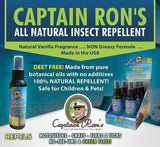 Captain Ron's All Natural Insect Repellent