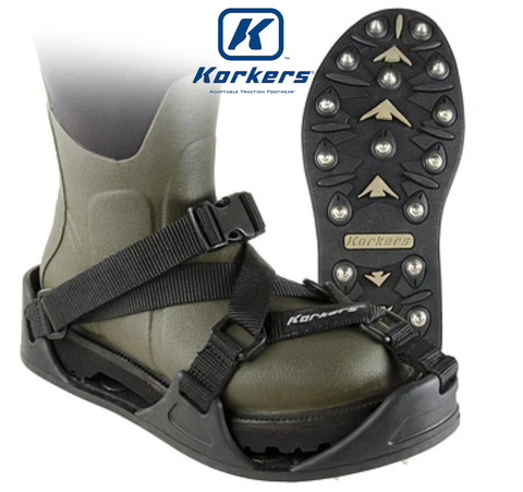 Korkers CastTrax Cleated Overshoe