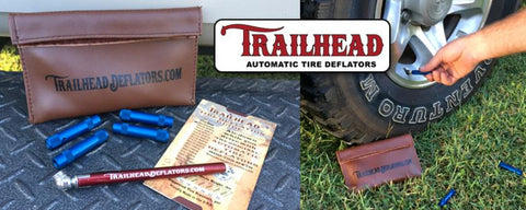 Trailhead Tire Deflators