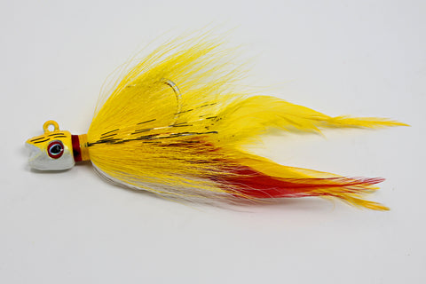 S&S Bucktails John Skinner Smiling Bill Bucktail Jig