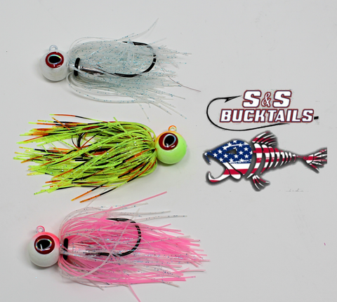 S&S Bucktails Octo-Pi Rubber Skirted Jig