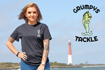 Grumpys Tackle Printed Logo Short Sleeve T-Shirt