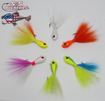 S&S Bucktails Rattletail 2.0 Rattling Bucktail Jig