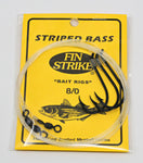 Fin Strike Striped Bass Bait Rig