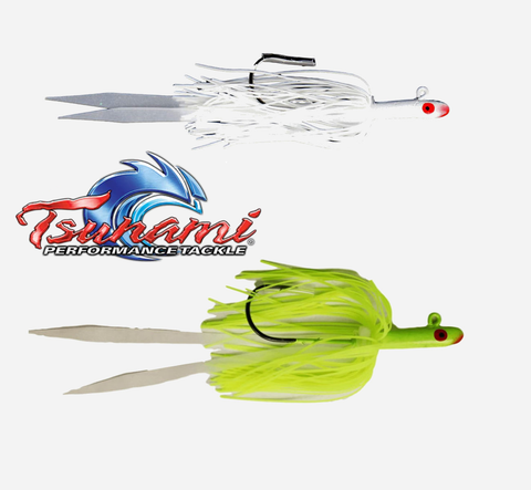 Tsunami Glass Minnow with Silicone Skirt Teaser