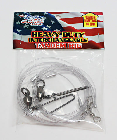Run Off Lures - Heavy Duty Mojo Tandem Rig