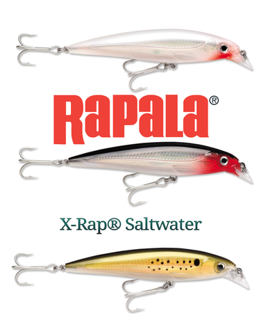 Rapala X-Rap Saltwater Series Xtreme Action Slashbait