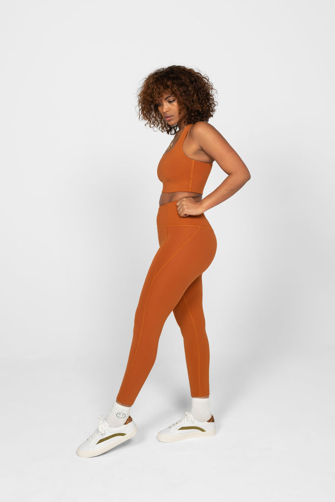 Girlfriend Collective High-Rise Legging Long Trail - Health Matters