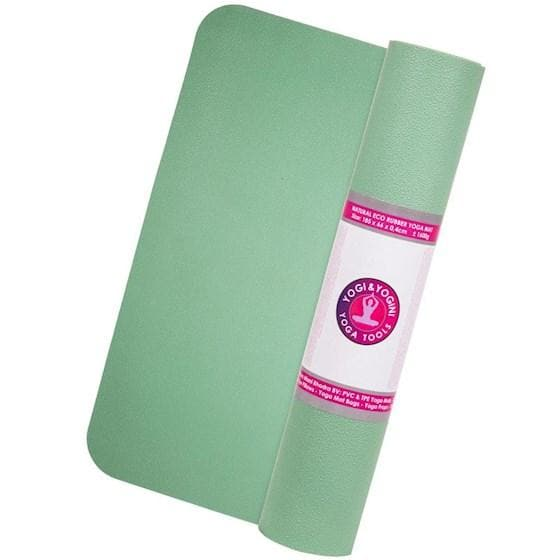 Yogi & Yogini ECO Rubber Yoga Mat - Health Matters Shop