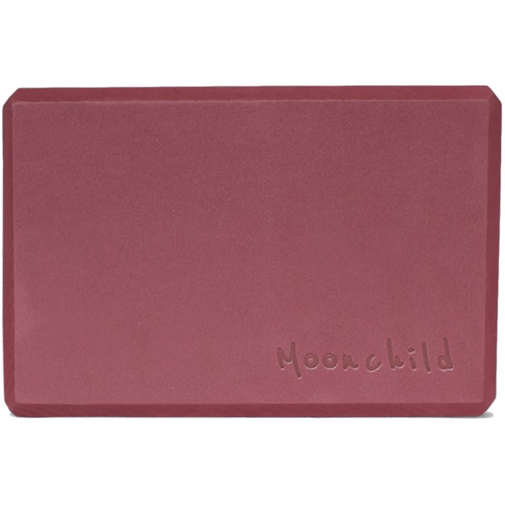 Recycled Foam Block Plum - Moonchild - Health Matters Shop