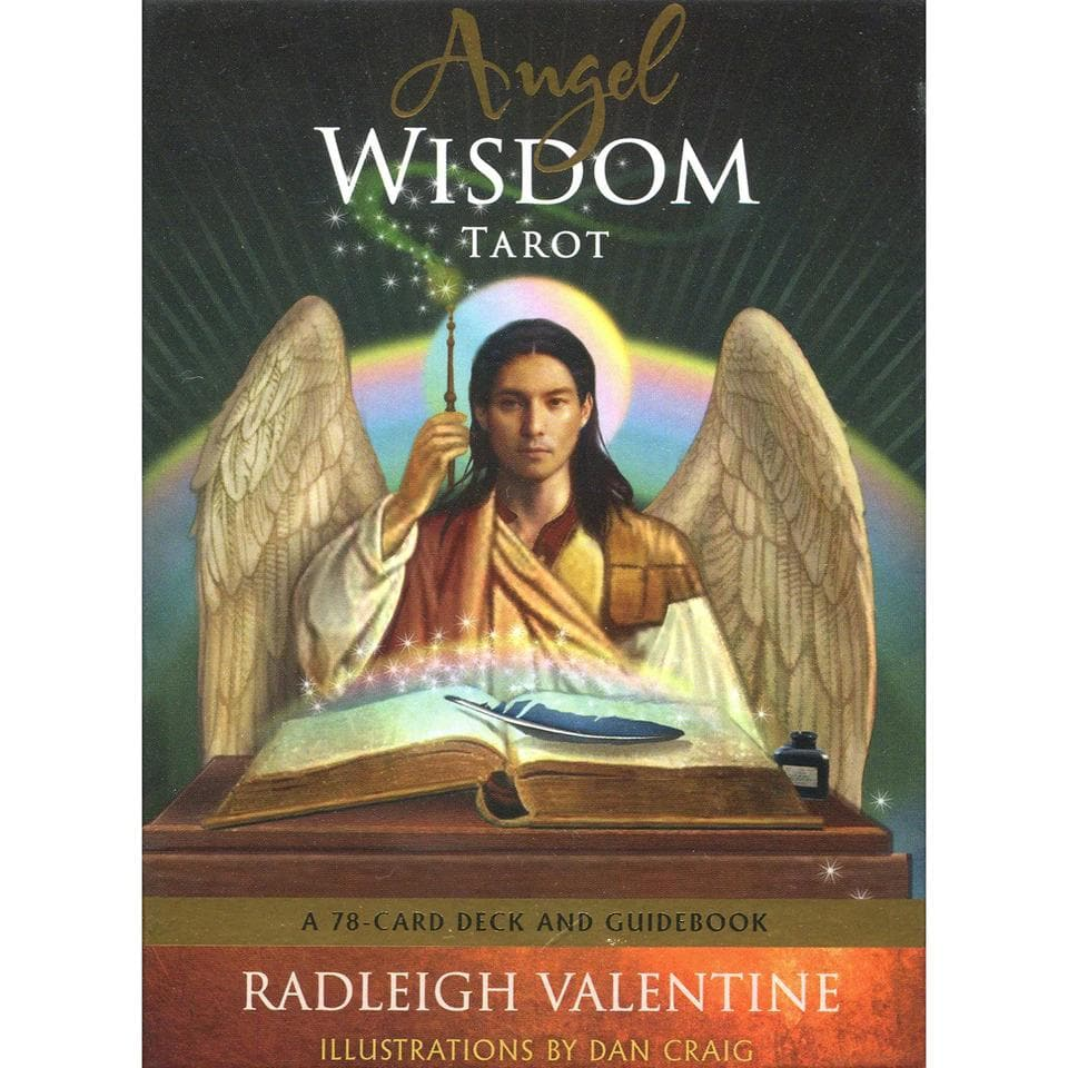 Angel Wisdom Tarot by Radleigh Valentine - Health Matters Shop