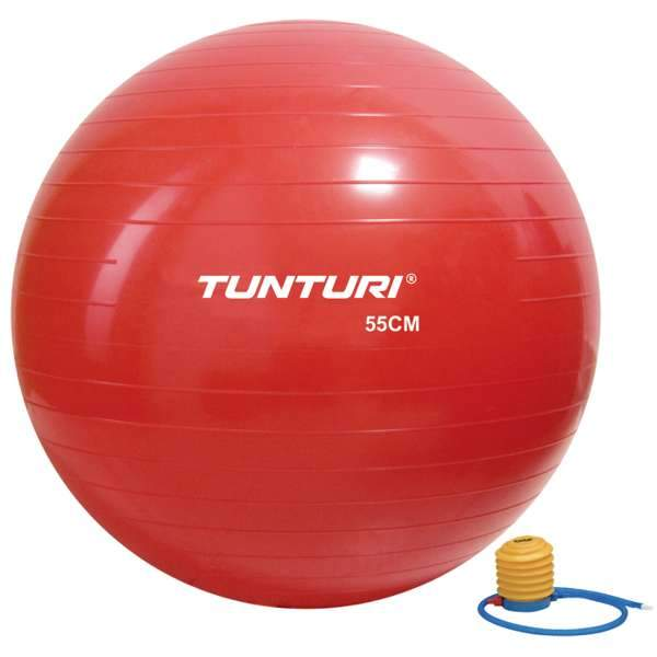 Tunturi Gymball 55 cm Red - Health Matters Shop