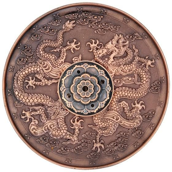 Copper Dragon Incense Burner - Health Matters