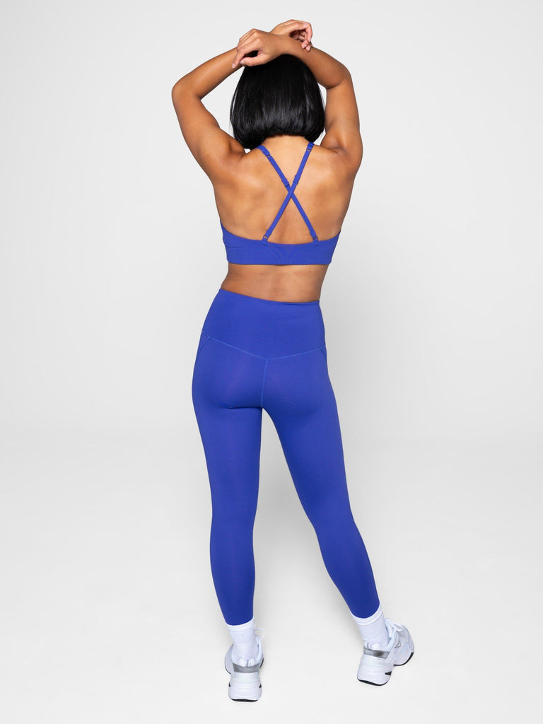 Girlfriend Collective High-Rise Legging 7/8 Pansy - Health Matters