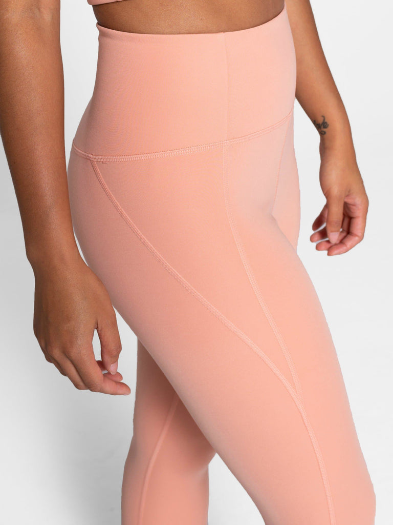Girlfriend Collective High-Rise Legging Long Sherbert - Health Matters