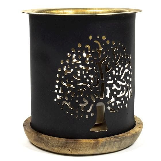 Aromafume Oil Burner Tree Of Life - Health Matters