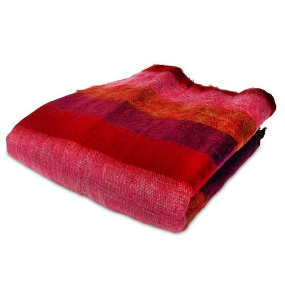 Meditation / Yoga Blanket XL Red Pink Orange - Health Matters